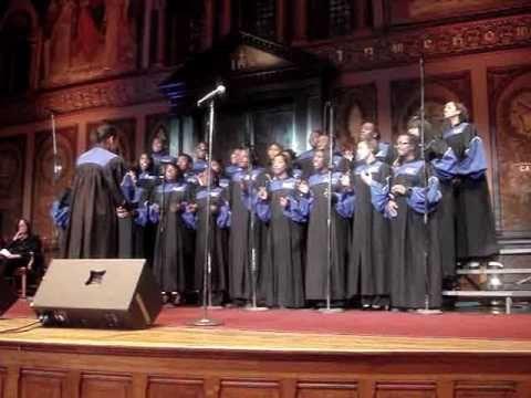 The Howard Gospel Choir Of University Sings Total Praise At Georgetown Universitys Dr