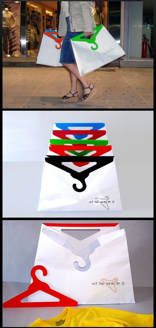 40 Clever and Creative Shopping Bag Designs