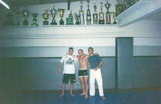 Lutador de jiu-jitsu: