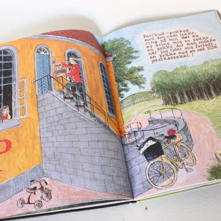 Ib Spang Olsen, - my favorite danish multi artist. Made the best drawings for children´s books