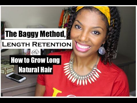 curly hair styles for the baggy method length retention amp growing 1664