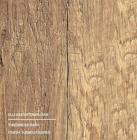 Coastal Classics Elizabethtown Oak Beveled Edge Planks