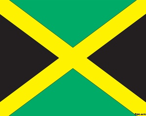 Flag of Jamaica is another flag PowerPoint template that you can download from this website, this time we created a template of Jamaica's flag so you can download it and use for your PowerPoint presentations