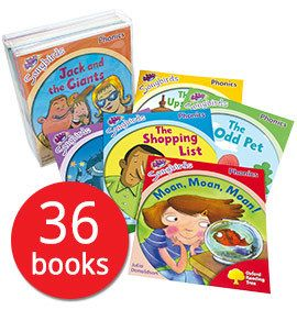 Songbirds Phonics Collection - 36 Books - Collection - 9780198411093 - Julia Donaldson