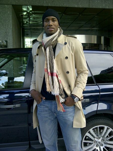 Serge Ibaka.  NBA player, speaks three languages, and looks like this!