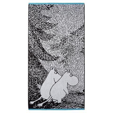 Moominsummer Madness bath towel 70 x 140 cm by Finlayson