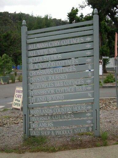 Old business sign pre 2009 businesses.  #mymarysville #murrindindi #bartonmillmarysville