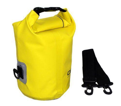 Overboard Wasserdichter Packsack, Gelb, 5 Liter, OB1001Y: Amazon.de: Koffer, Rucksäcke & Taschen