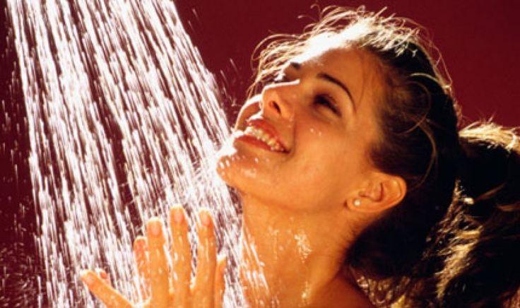 I benefici di una doccia fredda