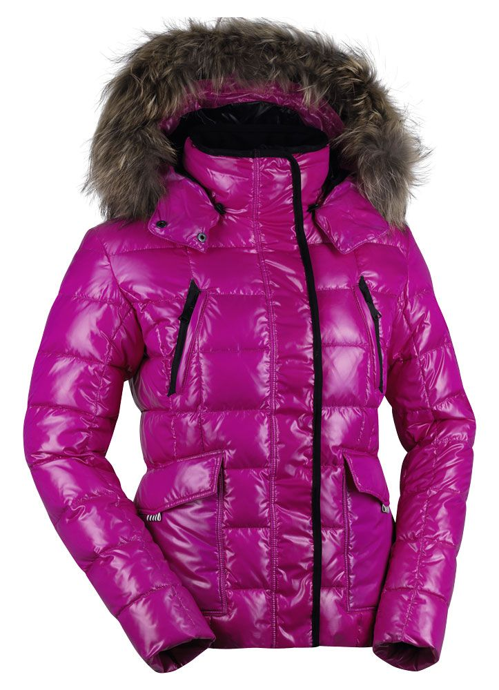 Kjus Cosmopolitan Fur Down Jacket #snowfox