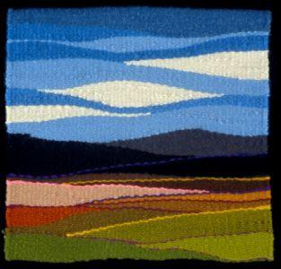 Arizona Spring   Julie Kornblum Tapestry Weaving
