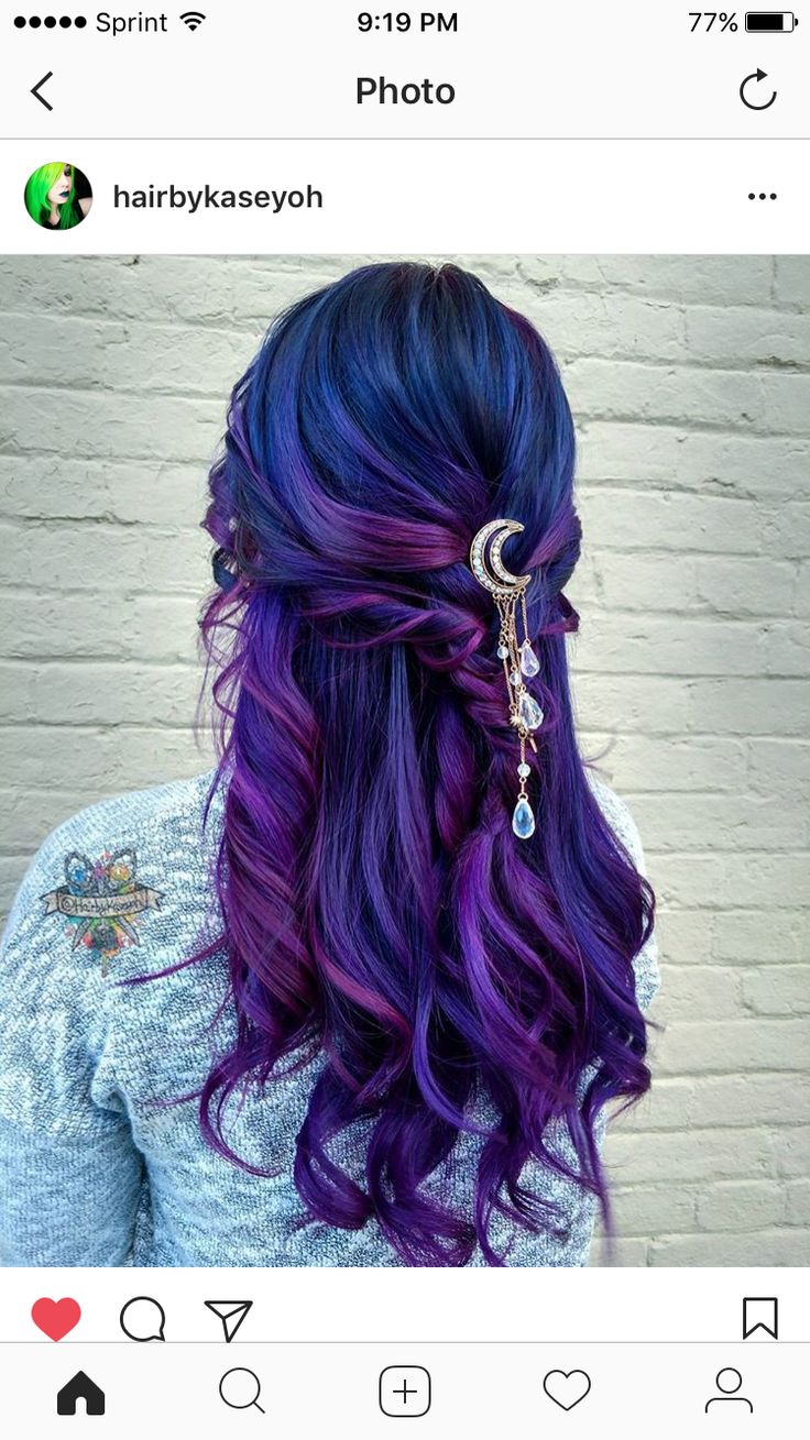 best colored hair images on pinterest