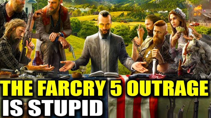 "farcry5gamer.comWhy The Far Cry 5 Outrage Is Stupid - ""Far Cry 5 Controversy"" Today Cody talks about why the Far Cry 5 outrage is stupid, and why the controversy surrounding Far Cry 5 is actually helping increase the visibility of the game. He talks about the Far Cry 5 trailer and gameplay, as well as the Far Cry 5 antagonists Eden's Gate.  Split Screenhttp://farcry5gamer.com/why-the-far-cry-5-outrage-is-stupid-far-cry-5-controversy/"