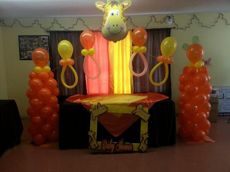 giraffe baby shower theme michelles baby shower pinterest