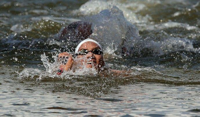 Ana Marcela Cunha, bronze 10km - Mundial de esportes aquáticos (Foto: Satiro Sodre/SSPress)
