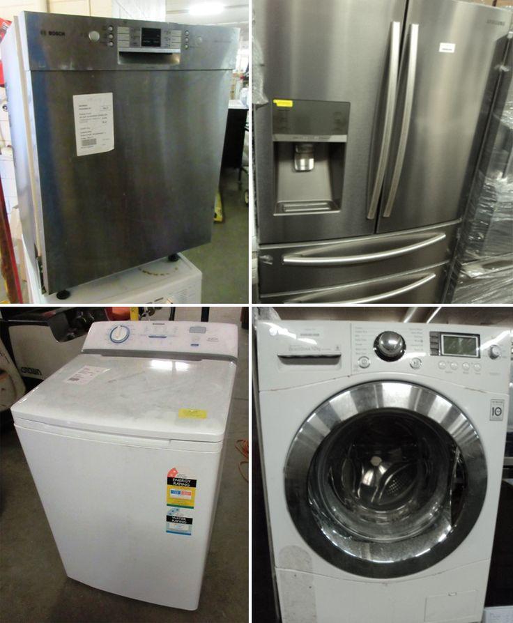 Fridges - washing machines - robotic vacuums - more whitegoods  Ending 2:00 pm today!