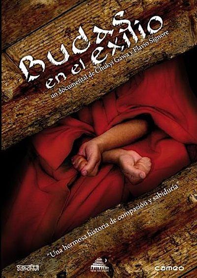 """Budas en el exilio: """"El pueblo del Tibet ha hecho frente a continuas violaciones de sus derechos humanos fundamentales durante más de cuatro décadas. Aquellos individuos que se han manifestado o han alzado sus voces para hacer prevalecer la verdad en el Tibet, han visto como sus voces eran continuamente castigadas ..."""""""
