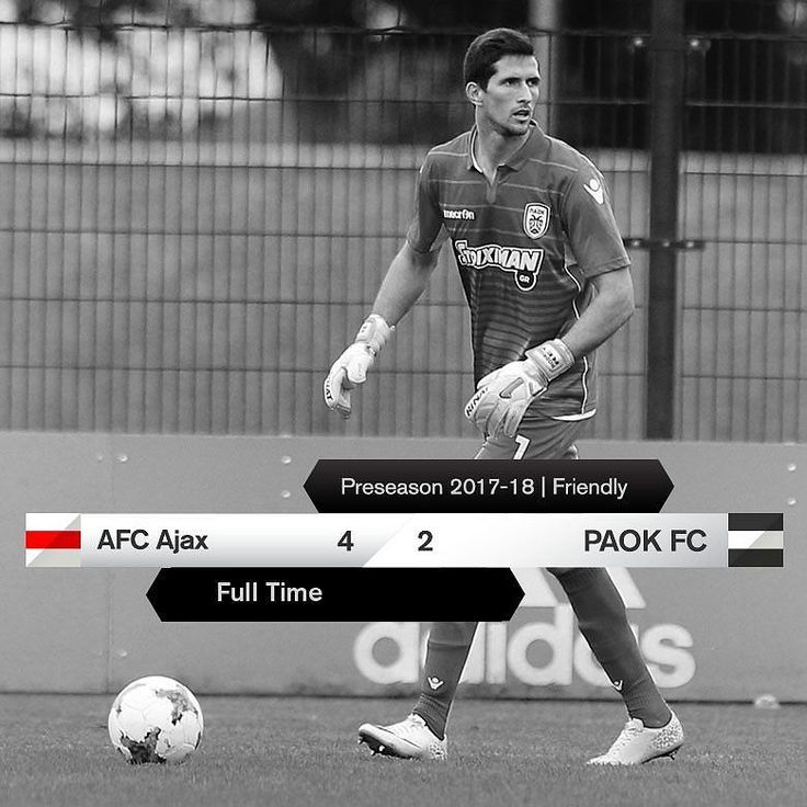 #AJAPAOK 4-2 #Preseason #friendly
