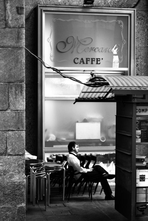 Mercanti Caffe, Milan Love Coffee - Makes Me Happy