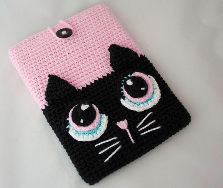 Funda Crochet Kindle