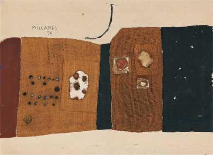 Composición, Manuel Millares