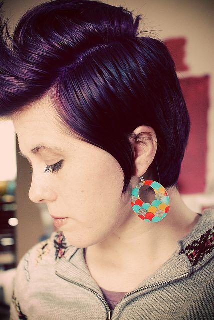 I adore purple hair:) | Hair | Pinterest | My hair, The ...