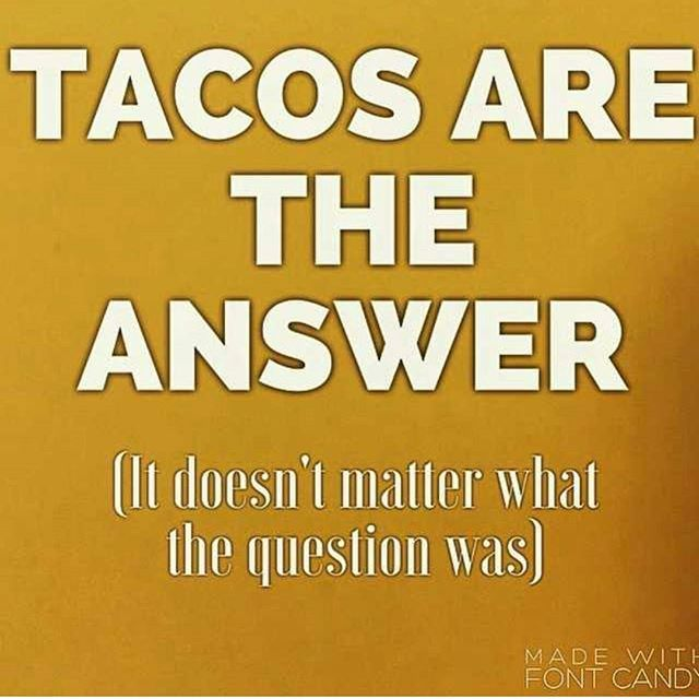 Wat color is the sky? Tacos!! Wat time is it? Tacos!! Its tacotuesday time for some tacos!! Have a great tacotuesday. ...lets eat some tacos!! #wedeep #worldwide #tacos #tacolife #showmeyourtacos #tacogang by @taco.gang