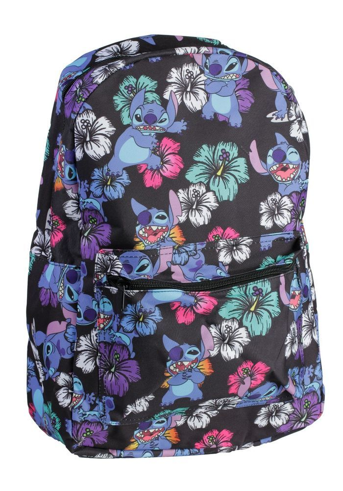 Lilo and Stitch Tropical Backpack in Clothes, Shoes & Accessories, Fancy Dress & Period Costume, Accessories | eBay