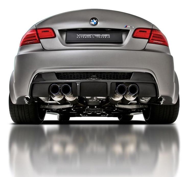BMW E92 M3 GTRS3 Vorsteiner BACK