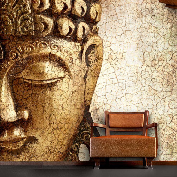 Wall Mural Vintage Buddha Large Photo Interior Art Decoration Wallpaper