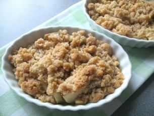 Apple Crisp for Two > Start Cooking