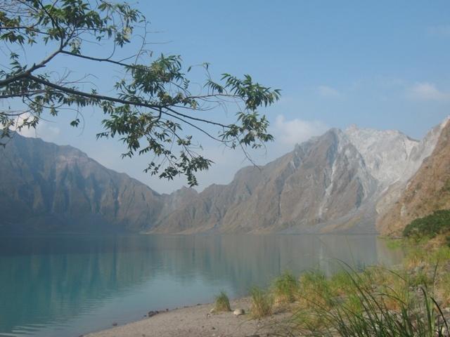 lakeside at Mount #Pinatubo #Capas #Tarlac #Philippines