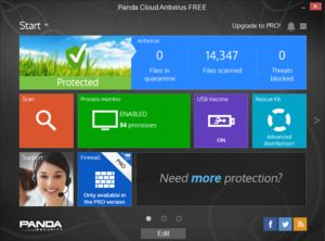 Free antivirus software Panda tops AV-Test's security rankings