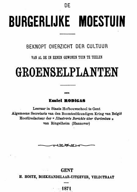 moestuin boek teelt tips De Boon in de Tuin | http://deboon.blogspot.nl