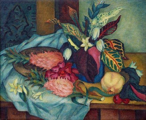 lilithsplace: 'Seychellois Still Life', 1949 - Alexis Preller (1911–1975)