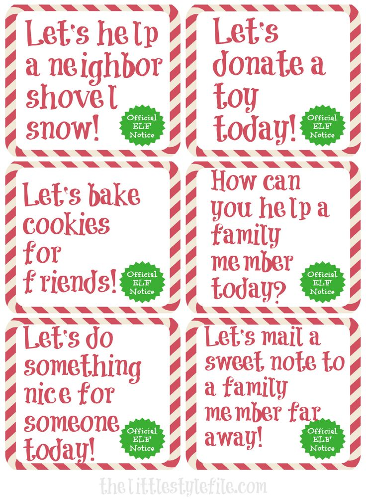 Elf on the Shelf Kindness Edition via Little Style Files #Printables #EOTS