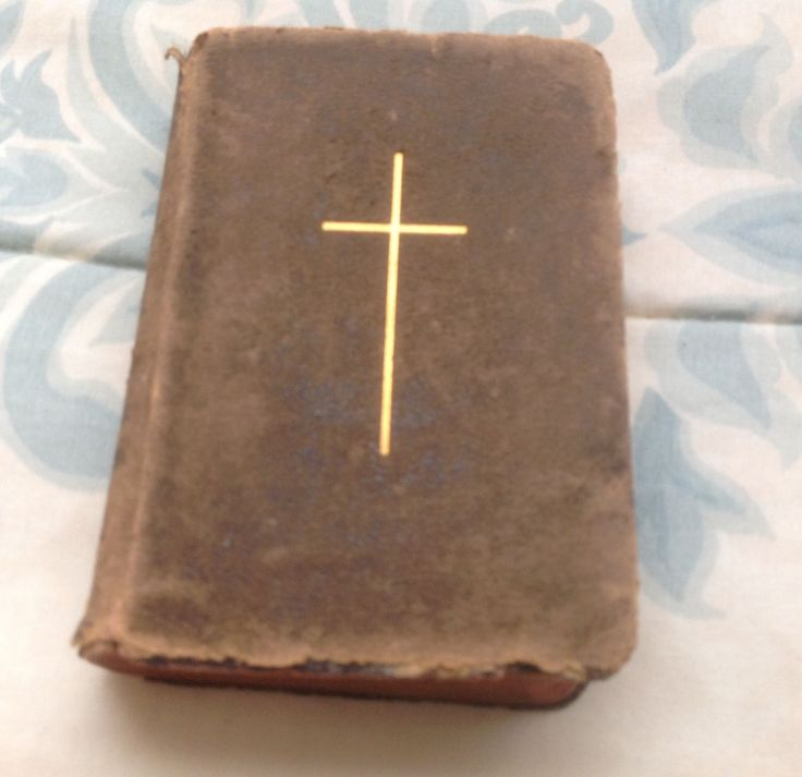 Antique The Golden Key Of Heaven Book Catholic Missal Mini Collectible 1895