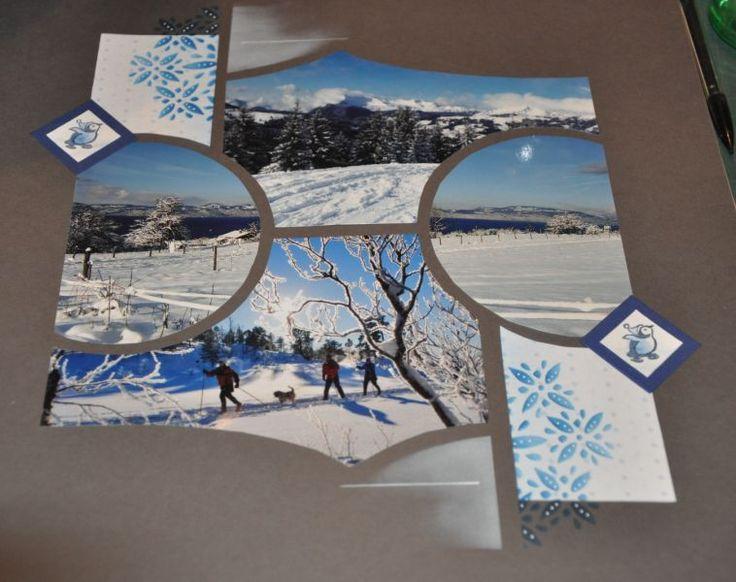 Le blog de Ninie Créations  Mes petites créations en scrap, pages, cartes,