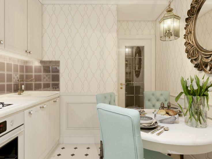 Кухня-«шкатулка»: неоклассический интерьер на 5 кв. м — Субботний Рамблер