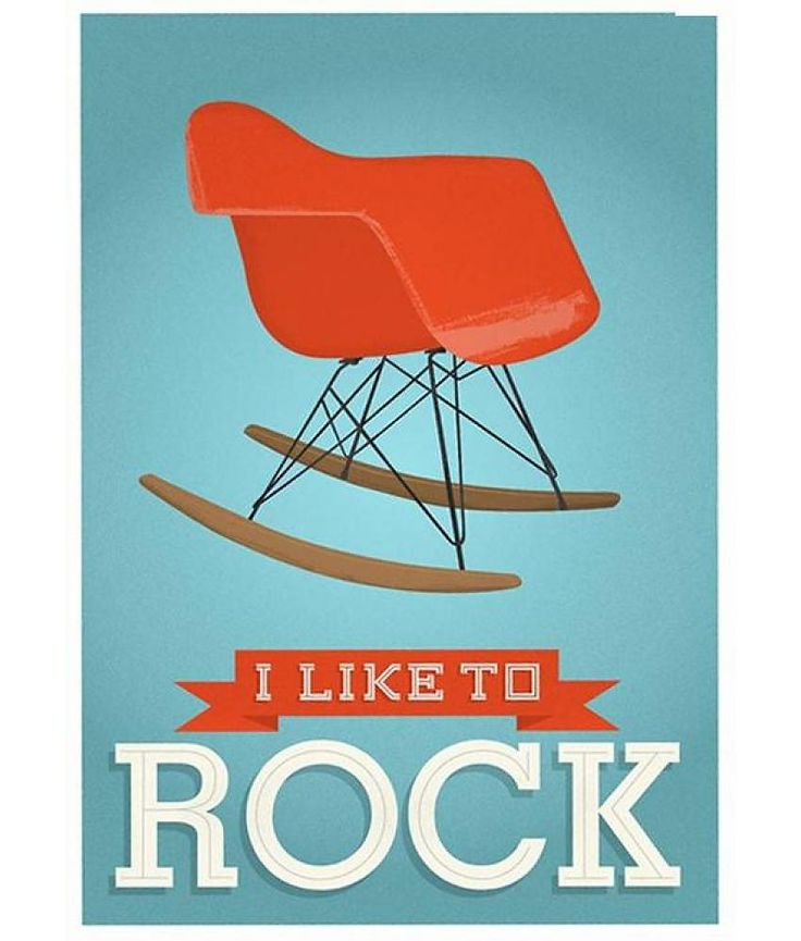 Yes, at On the Glo, we #rock... with a #rockingchair!