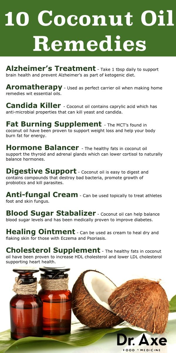 Coconut Remedies #infographic