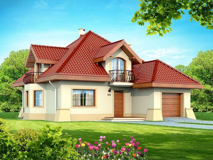 Projekt domu DN Modena - DOM PC1-22 - gotowy projekt domu