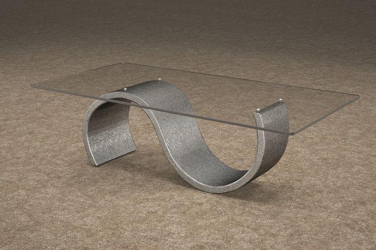Articolo 416-12     Tavolino da salotto Crono - Finitura: brunito.Misure: cm 110 x 65  - Altezza: cm 38 - Peso: Kg. 42 - Vetro: rettangolare -  temperato - extrawhite - filo lucido - spessore 1 cm