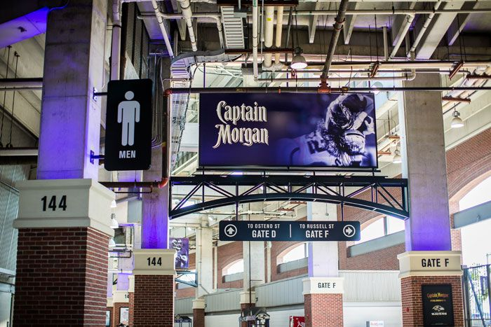 Baltimore Ravens | M&T Bank Stadium Concourse Signage