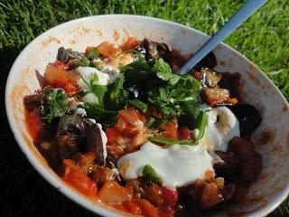 Kook je vegetarisch met mij mee?: Auberginesalade