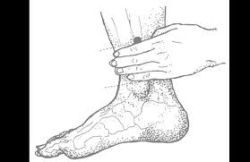 Acupressure  point for  prolapse  uterus  spleen point 6