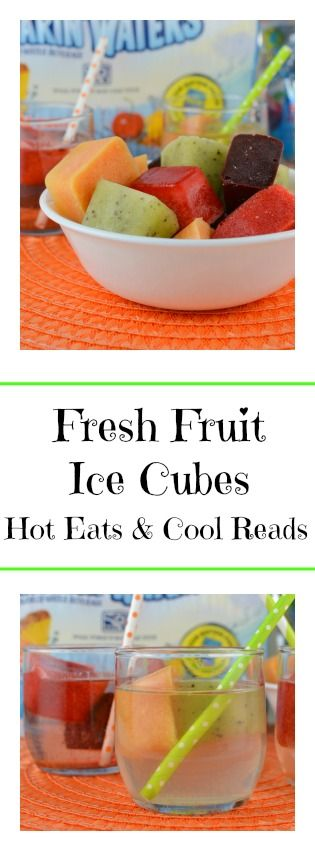 Delicious and tasty! Great for adding to juice, soda, water or even your favorite adult beverage! Fresh Fruit Ice Cubes from Hot Eats and Cool Reads! #KidsChoiceDrink #Ad