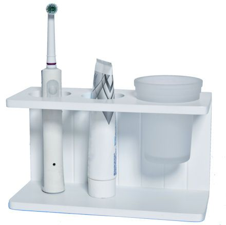 7 best storage ideas images on pinterest bathroom for Best way to store toothbrush in bathroom