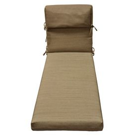 Captivating Allen + Roth 72 In L X 21 In W Wheat Patio Chaise Lounge