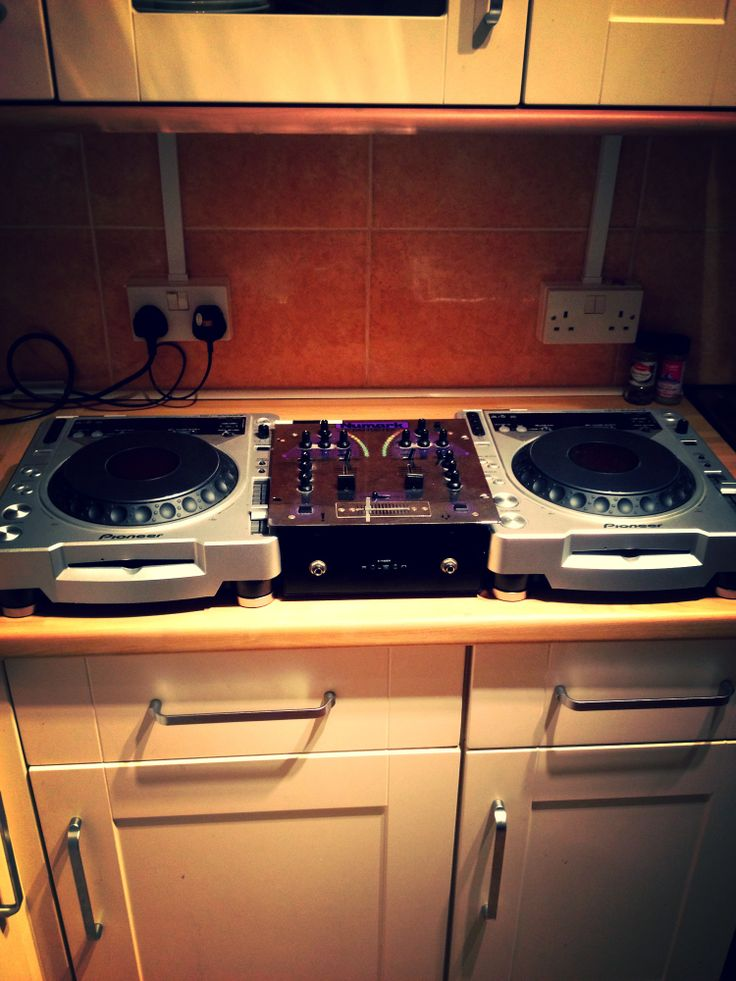 Our first set of decks at home... Thanks' to Roy Rovelli